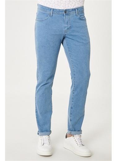 Altınyıldız Classics Slim Fit Dar Kesim Denim Esnek Jean Kot Pantolon 4A0121200128 Mavi